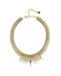 DANNIJO | Metallic Liev Necklace | Lyst