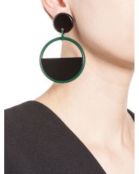 Marni | Green Clip-on Earrings In Resin | Lyst