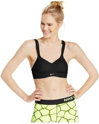 Nike | Black Pro Hero Dri-fit Sports Bra | Lyst