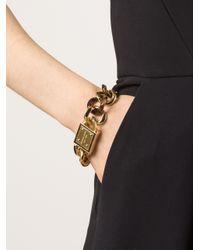 Michael Kors - Metallic Tortoise Curb Bracelet - Lyst