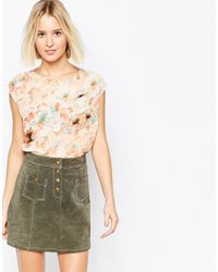 Daisy Street | Multicolor Top In Digital Print - Multi | Lyst