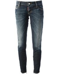 DSquared² | Blue Skinny Fit Jeans | Lyst