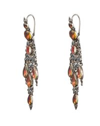 Alexis Bittar | Multicolor 1800'S Foiled Citrine Chandelier Earrings | Lyst