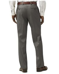 Dockers - Gray Never-iron D2 Straight-fit Pants for Men - Lyst