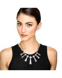 Lulu Frost - Metallic Crystaline Necklace - Lyst