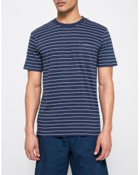 11c5c18199 Obey Group Pocket Tee in Blue for Men - Lyst