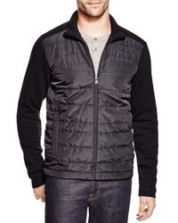 BOSS | Black Pizzoli 36 Milano Rib Quilted Nylon Jacket for Men | Lyst