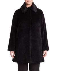 Jane Post | Black Jane Coat | Lyst