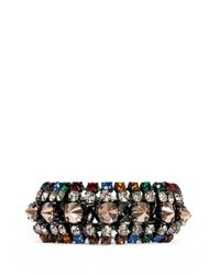 Iosselliani | Multicolor Gunmetal Chain Bracelet | Lyst