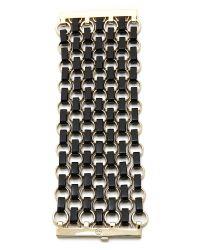 Tory Burch - Metallic Aselma Chain Bracelet   - Lyst