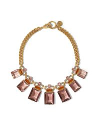 Vince Camuto | Red Louise Et Cie Graduated Gemstone Necklace | Lyst