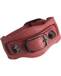 Balenciaga - Red Arena Classic Bracelet - Lyst
