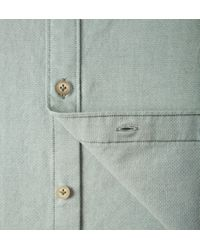 Onassis Clothing | Green Ons Oxford Button Down Shirt for Men | Lyst