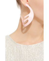 Rosie Assoulin | Roxanne Assoulin For Pink Hoop Earrings | Lyst