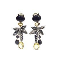 Iradj Moini - Blue Leaf Drop Earrings - Lyst