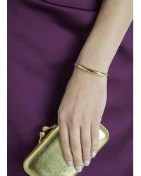 Monica Vinader | Metallic Esencia 18kt Gold-plated Bracelet | Lyst