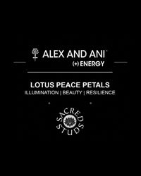 ALEX AND ANI - Metallic Sacred Studs Expandable Wire Bangle Lotus Petals - Lyst