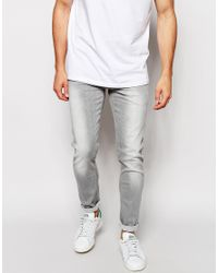 a47705ea7853a Lyst - Pepe Jeans Skinny Jean Finsbury in Gray for Men