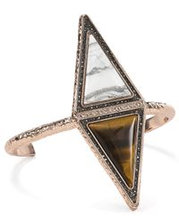 House of Harlow 1960 | Metallic Isosceles Reflection Cuff | Lyst
