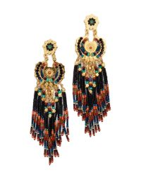 Gas Bijoux | Multicolor Fringe Earrings | Lyst