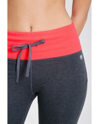 Forever 21 - Gray Active Heathered High-waisted Leggings - Lyst