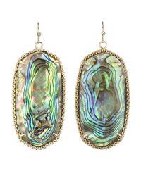 Kendra Scott   Metallic Deily Earrings Abalone   Lyst