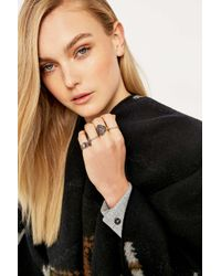 Urban Outfitters | Metallic Bohemian Multi-ring Pack | Lyst