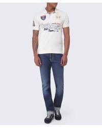 La Martina - White Courchevel Logo Polo Shirt for Men - Lyst