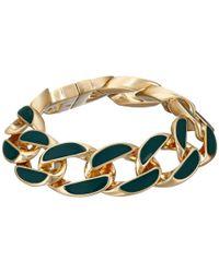 Karen Kane - Green Secret Garden Link Bracelet - Lyst