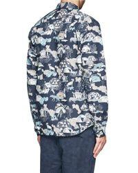 Paul Smith - Multicolor Assorted Print Poplin Shirt for Men - Lyst