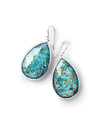 Ippolita - Blue 925 Rock Candy Large Turquoise Pear Drop Earrings - Lyst