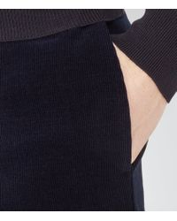 Reiss - Blue Pontus T Corduroy Trousers for Men - Lyst