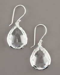 Ippolita | White Teardrop Quartz Earrings | Lyst
