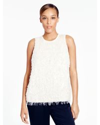 kate spade new york | Natural Corrina Top | Lyst