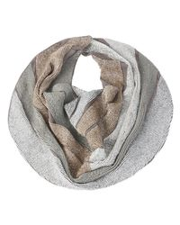Roarke | Gray Block Necklace, Grey | Lyst