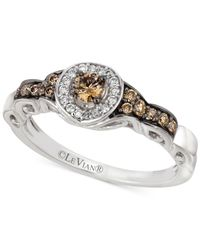 Le Vian | Metallic Chocolatier® Diamond Ring (3/8ct. T.w.) In 14k White Gold | Lyst