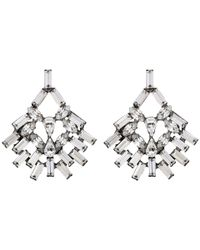 DANNIJO | Metallic Capelle Earrings | Lyst