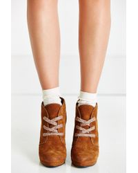 Dolce Vita | Brown Gael Wedge Ankle Boot | Lyst