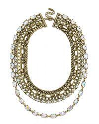 BaubleBar | Metallic Borealis Chain Bib | Lyst