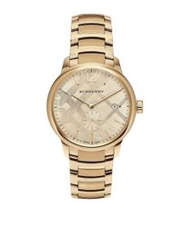 Burberry | Metallic Bu10006 Classic Goldtone Stainless Steel Bracelet Watch | Lyst