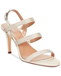 Style & Co. | White Style&co. Urey Evening Sandals | Lyst