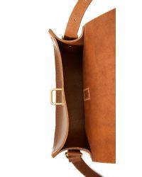 Cambridge Satchel Company - Brown Saddle Bag - Lyst