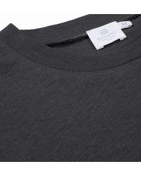 Sunspel | Gray Men's Slub Cotton Long Sleeve Relaxed Fit T-shirt for Men | Lyst