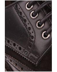 BOSS Orange | Black Low Shoes In Leather 'weekel' for Men | Lyst