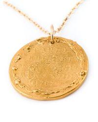 Alighieri | Metallic 'il Leone' Necklace | Lyst