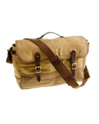 J.Crew - Natural Abingdon Messenger Bag for Men - Lyst