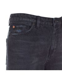 Paul Smith | Women's Black And Blue Patchwork Denim Jeans | Lyst