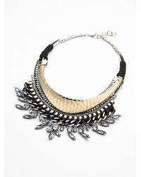 Free People | Metallic Womens Genesis Collar | Lyst