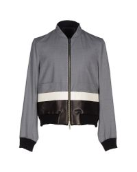 Les Hommes | Gray Jacket for Men | Lyst
