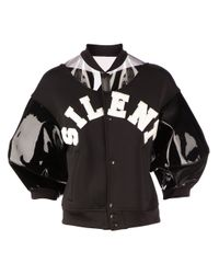 Undercover - Black Silent Print Bomber Jacket - Lyst